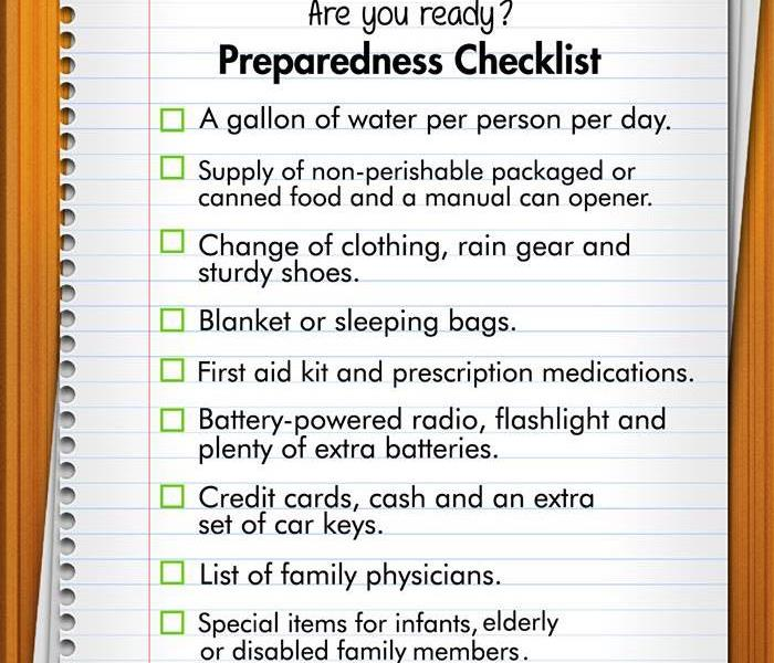 General Preparedness Checklist