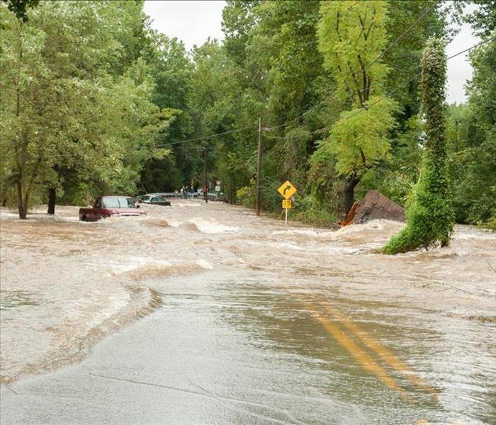 Why SERVPRO Can You Safely Drive Through Flooded Streets?